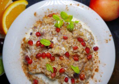 Apple and Blueberry Porridge