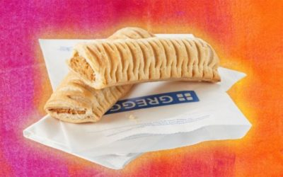 Being vegan in Greggs